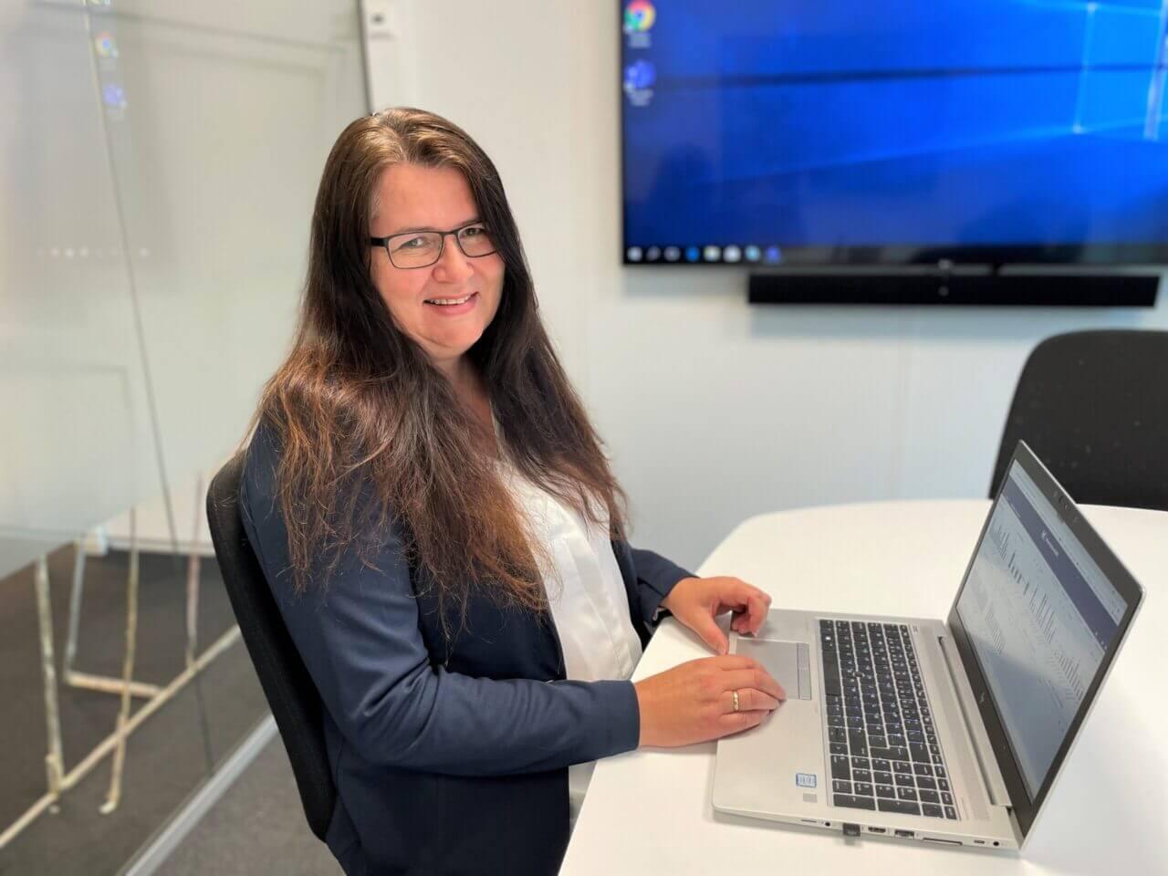 Merete Tisløv Kverneland Bil business controller